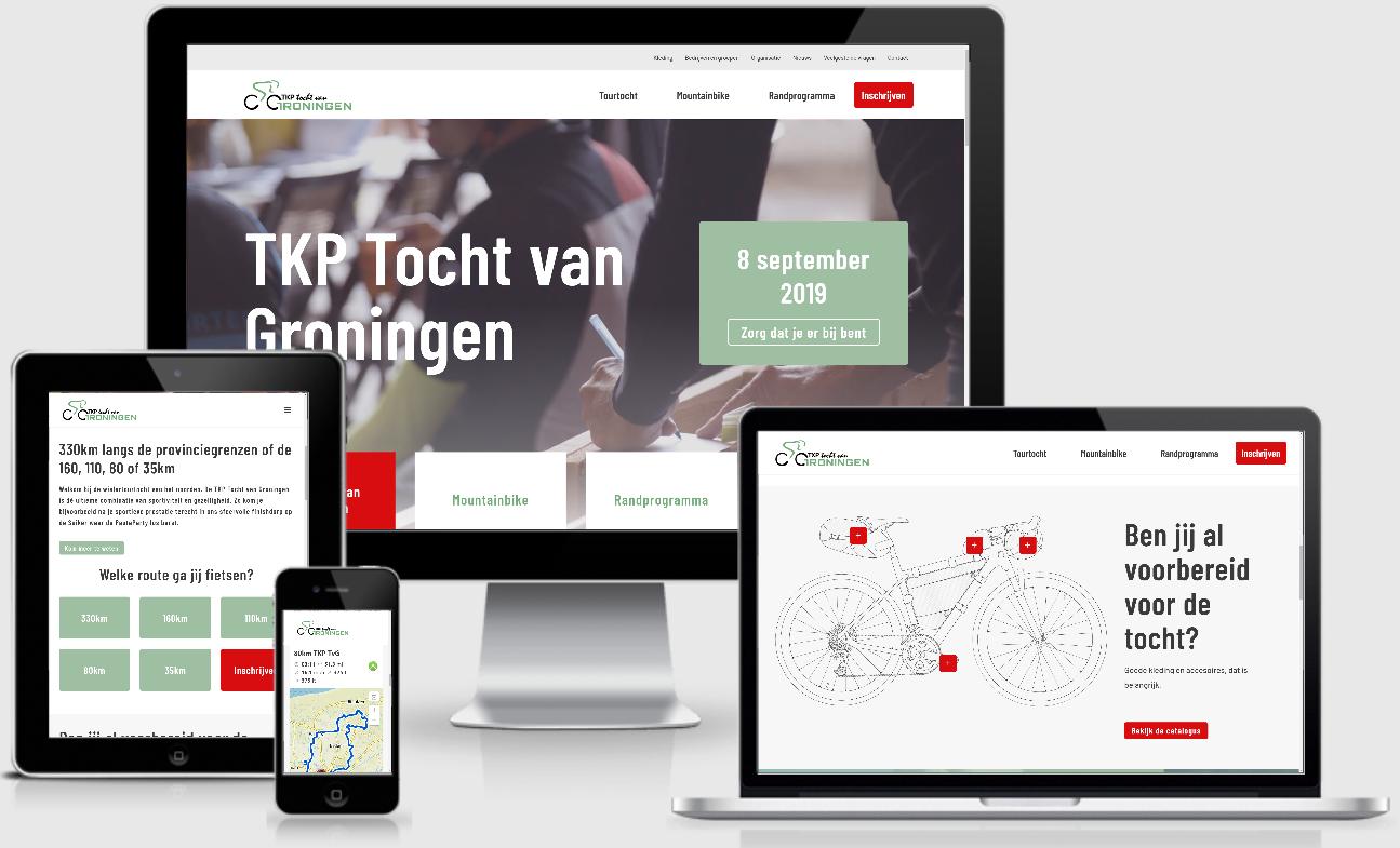 TKP tocht van Groningen